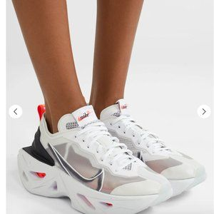 NIKE White Red Black ZoomX Vista Grind Sneakers
